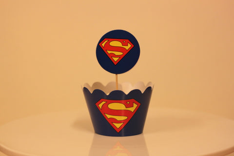 Wrapper á 10 stk. Superman