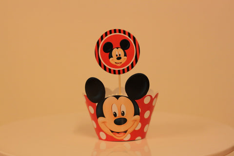 Wrapper á 10 stk. Mickey
