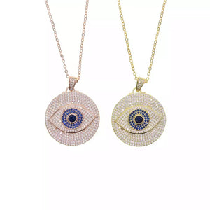 ALL EYES ON ME - 18K Gold Plated Evil Eye
