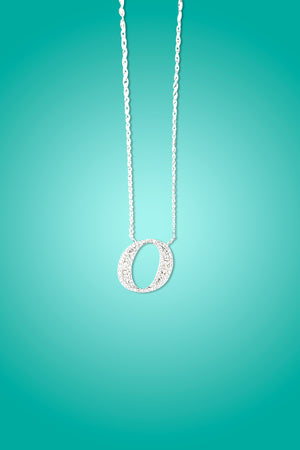 O- Initial Necklace