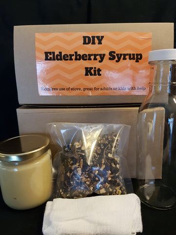 D.I Y Elderberry Syrup Kit