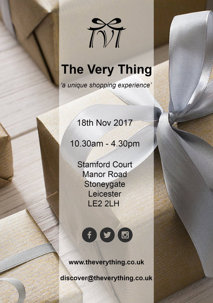 The Very Thing Event- November 2017