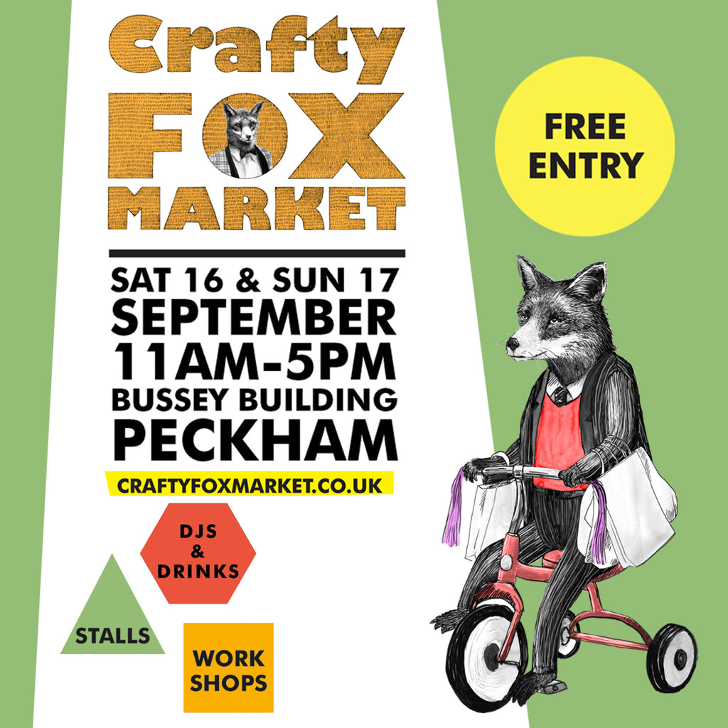 Crafty Fox Peckham, 16th September