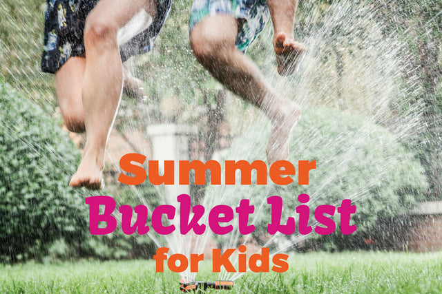 summer bucket list for kids, family, summer to do list, summer activities