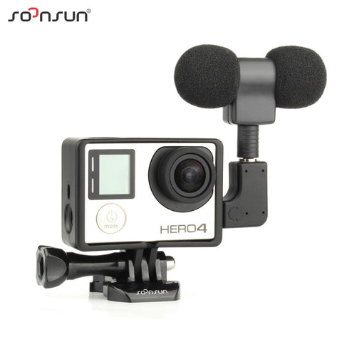 Soonsun Gopro Professional Audio Recording External Stereo