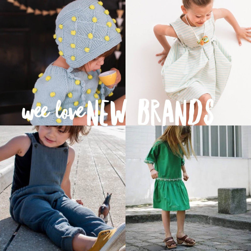 New brands wee love!