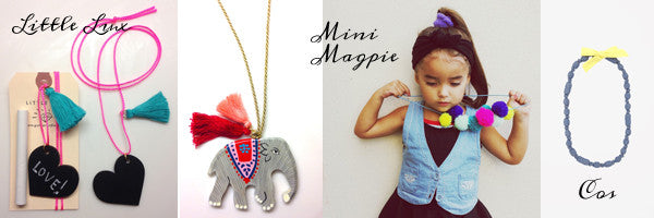 A Wee Kid's Jewellery & Accessories Edit by Hanna Nicholson (The Collective Boutique)