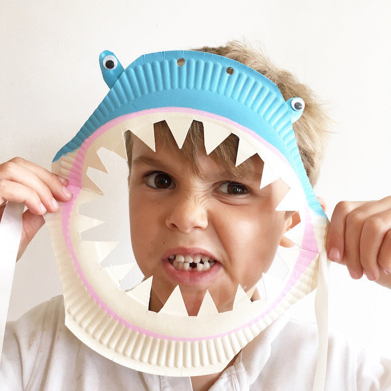 DIY Shark Mask