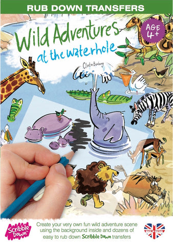 scribble down wild adventures at the watering hole