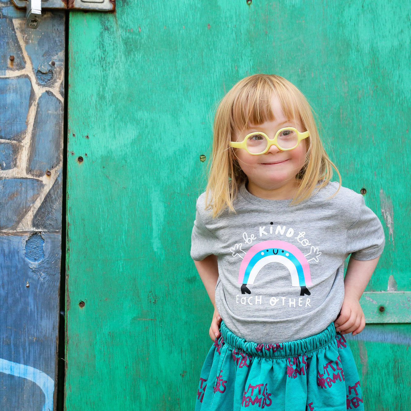 Rainbow Short Sleeve T-shirt - The Wee Store Brighton Children's Clothing & Gifts