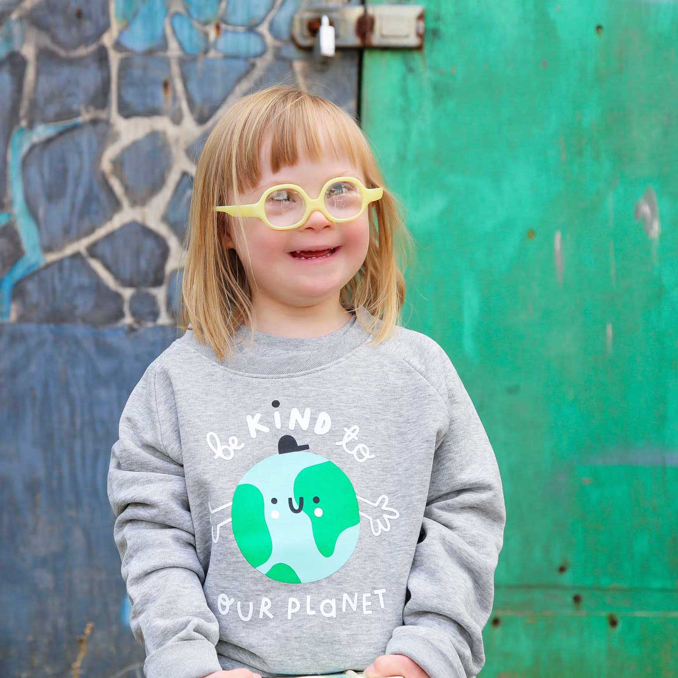 Earth Sweatshirt - The Wee Store Brighton Children's Clothing & Gifts