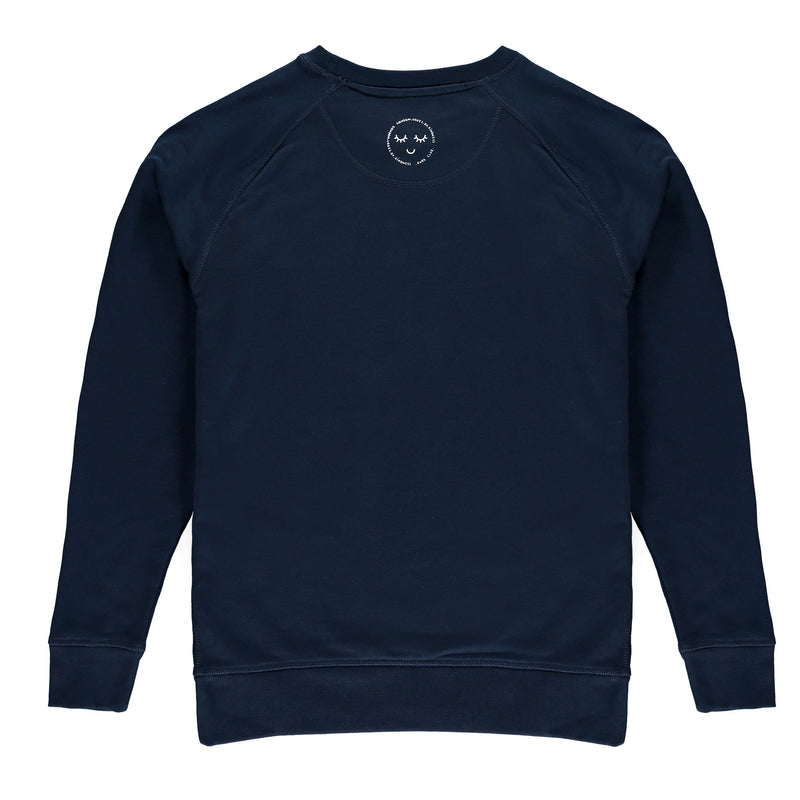Adults It's A Kind (of) Revolution Sweatshirt - Navy / Gold - The Kindness Co-Op Children's Clothing & Gifts
