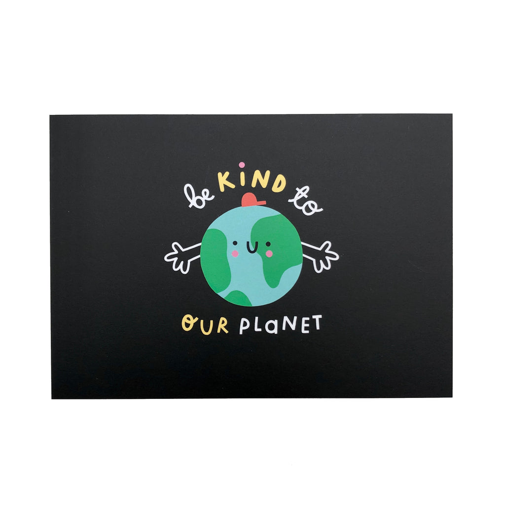 Be kind to our planet postcard - The Kindness Co-Op Children's Clothing & Gifts