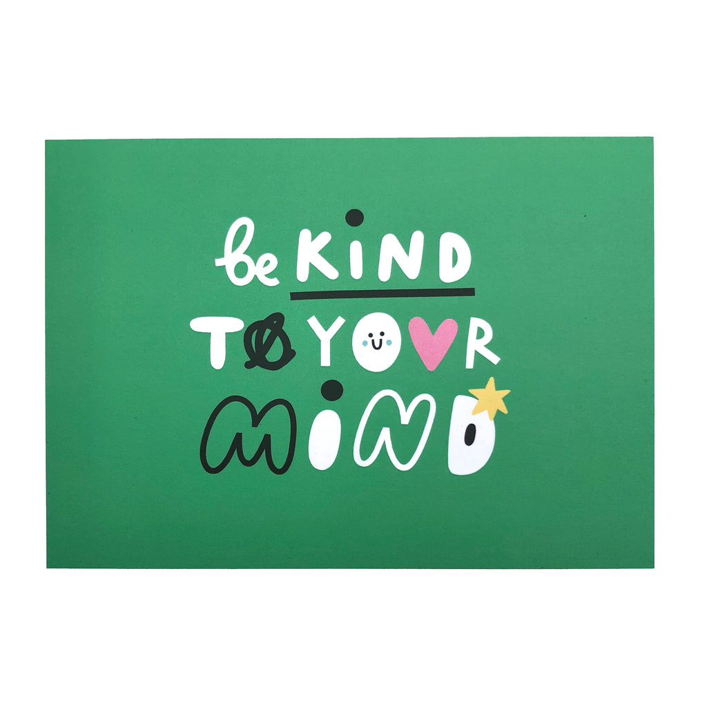 Be kind to your Mind postcard