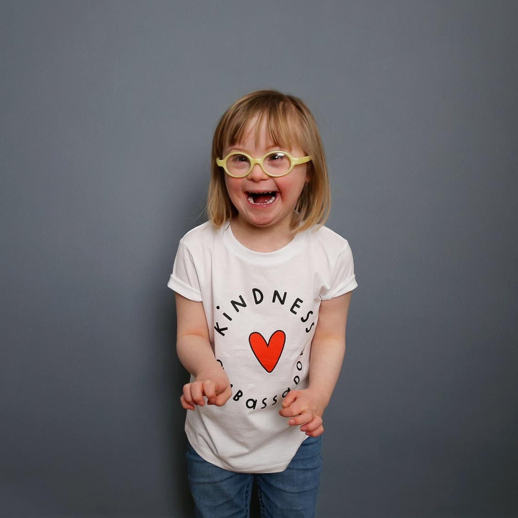 Kids Kindness Ambassador Short Sleeve T-shirt - The Kindness Co-Op Children's Clothing & Gifts