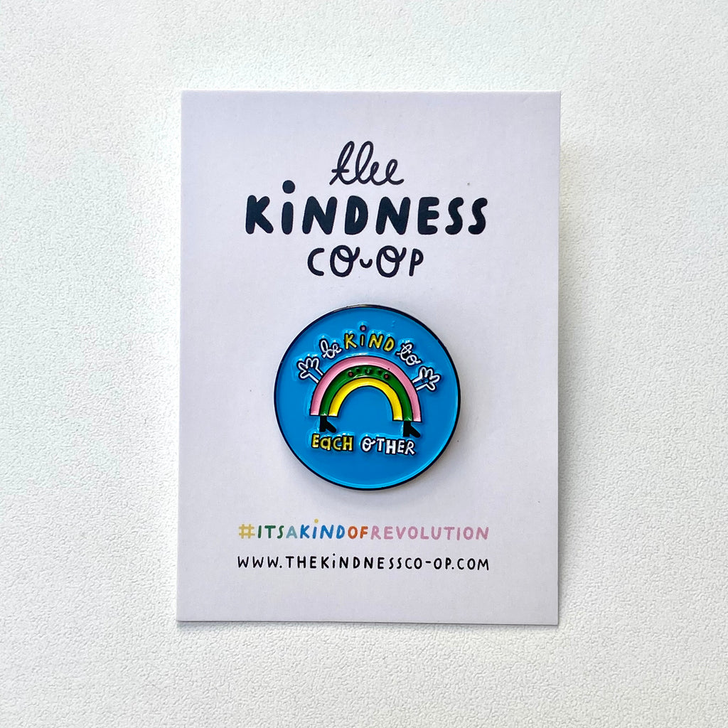 Rainbow Enamel Pin Badge