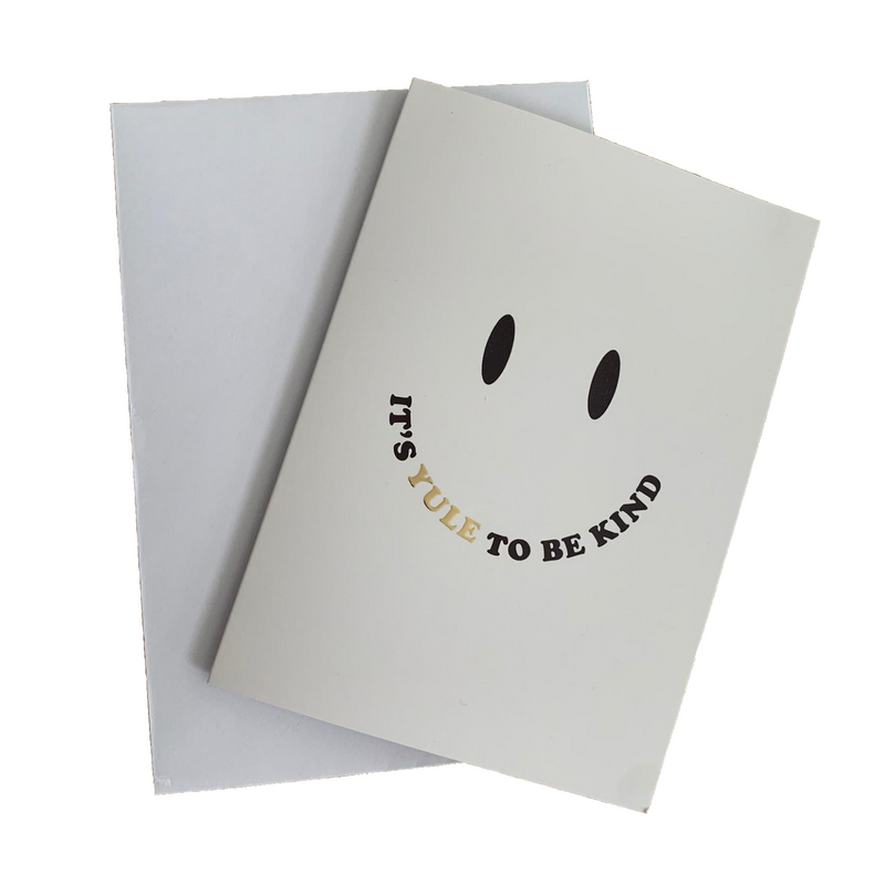 It's Yule to be Kind card by Dicky Bird X The Kindness Co-op