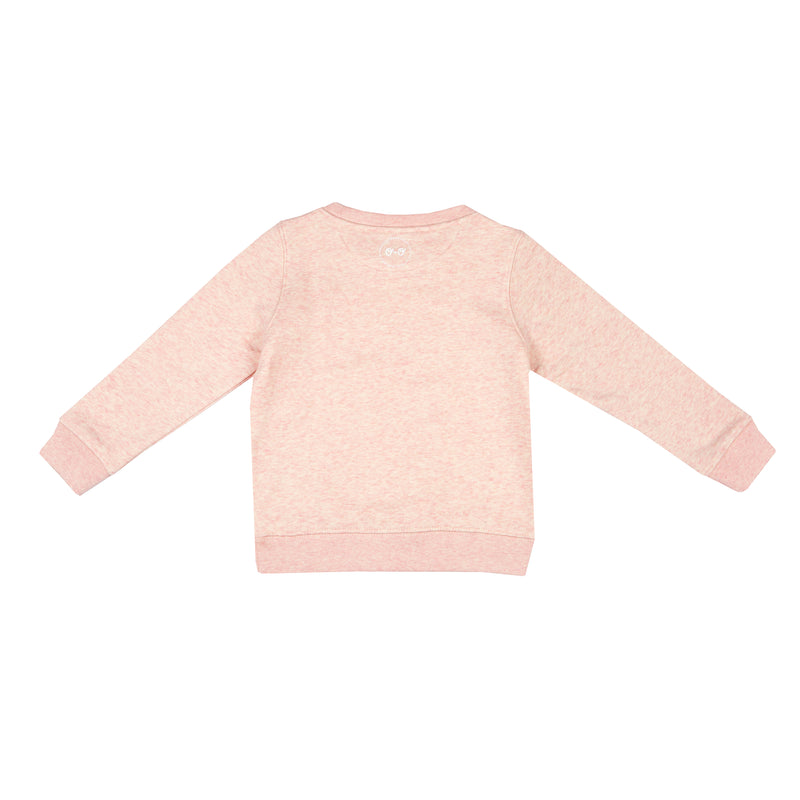 Kids Neon Eyes Sweatshirt - Pink - The Kindness Co-Op Children's Clothing & Gifts