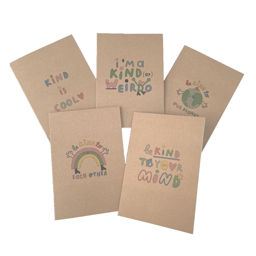 Be Kind to Our Planet Recycled Notebook
