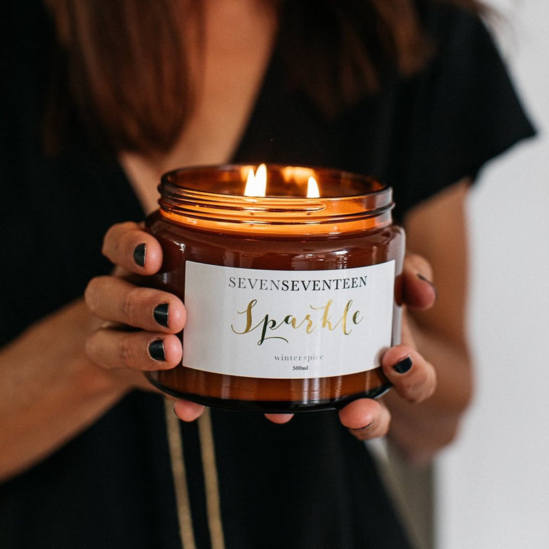 Sparkle (Winter Spice) Candle by Sevenseventeen