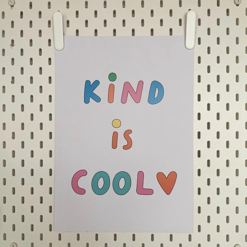 Kind is Cool A3 Print
