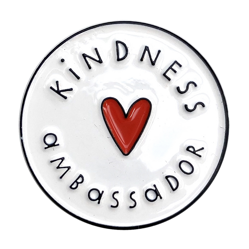 Kindness Ambassador Enamel Pin Badge - The Kindness Co-Op Children's Clothing & Gifts