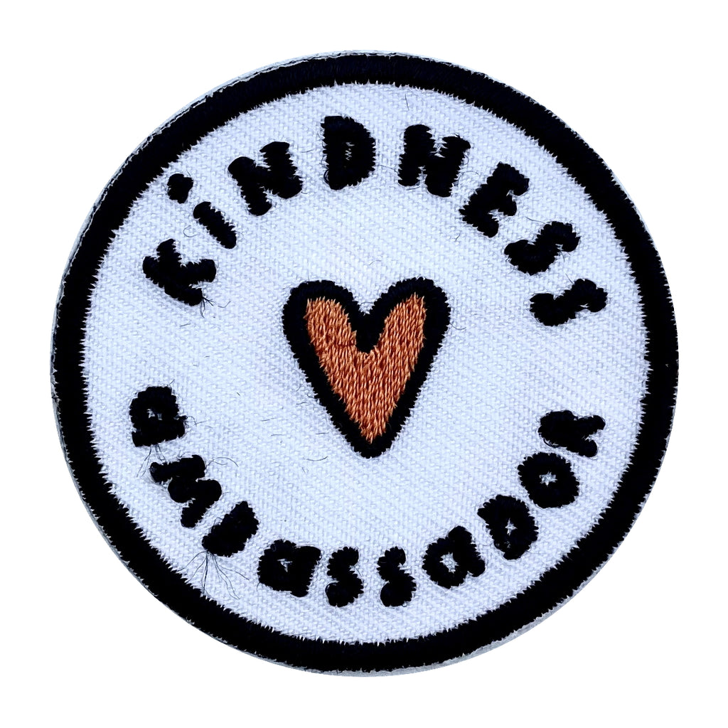 Kindness Ambassador Embroidered Iron on Patch - The Kindness Co-Op Children's Clothing & Gifts