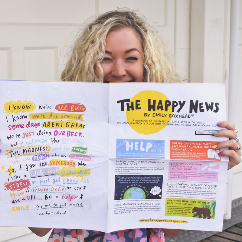 The Happy Newspaper