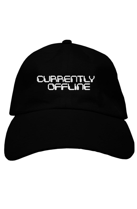 Currently Offline Black Dad Hat - dankmemesgang