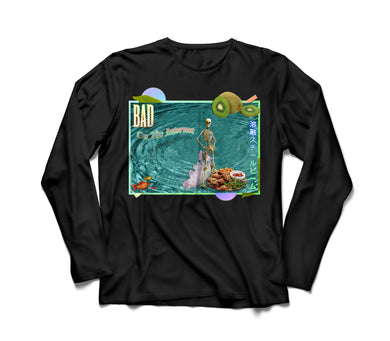Bad On The Internet Long Sleeve T-Shirt - dankmemesgang