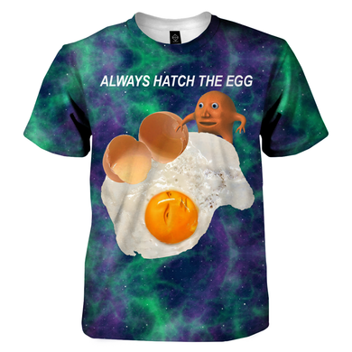 Always Hatch The Egg T-Shirt - dankmemesgang