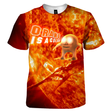 Orang Is A Color T-Shirt - dankmemesgang