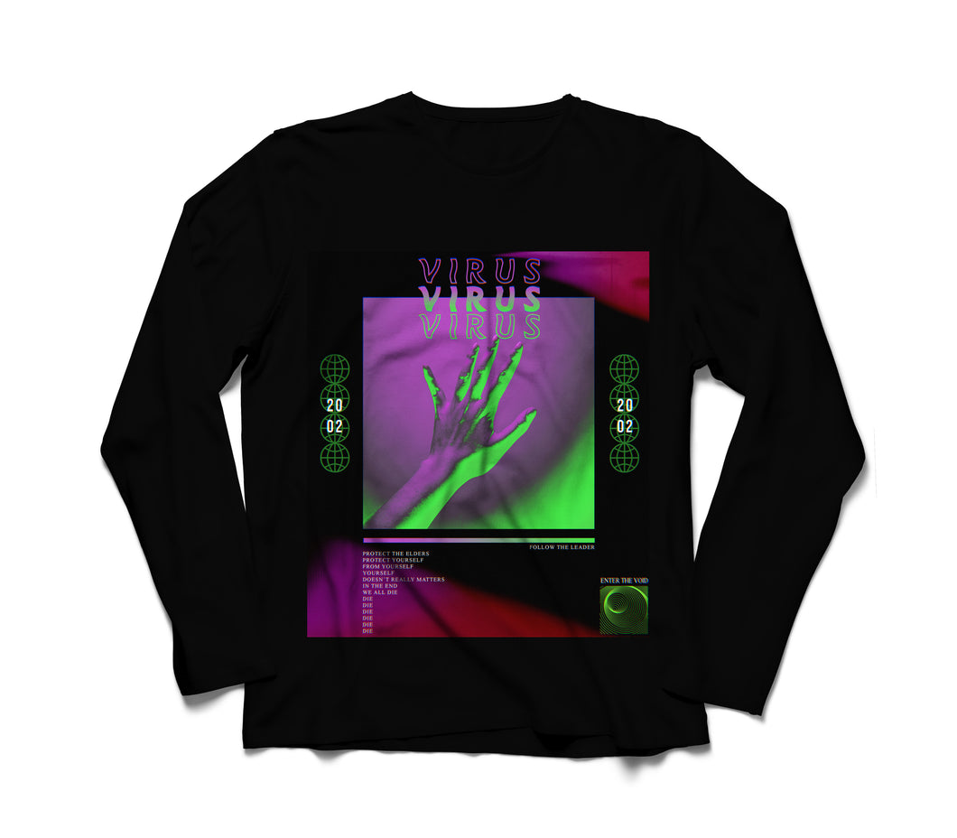Virus Long Sleeve T-Shirt - dankmemesgang