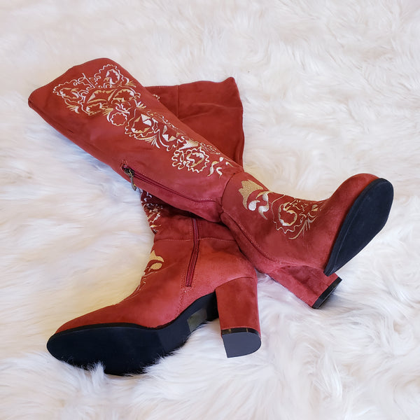 ukraine red boots - Boutique121