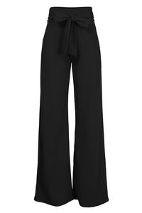 Little Black Wide Leg Trousers - Boutique121