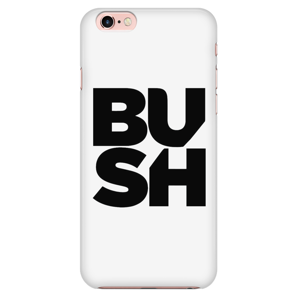 da74fee09f Stacked Logo iPhone 7/7s/8 Case White – Official BUSH Store