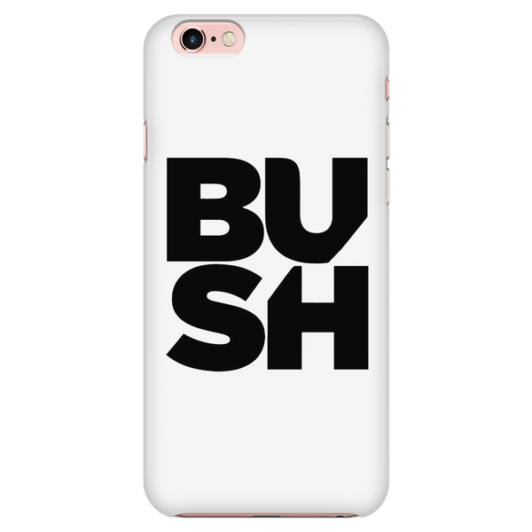 Stacked Logo iPhone 7/7s/8 Case White