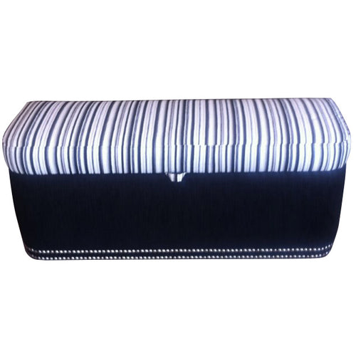 Bed end studs ottoman