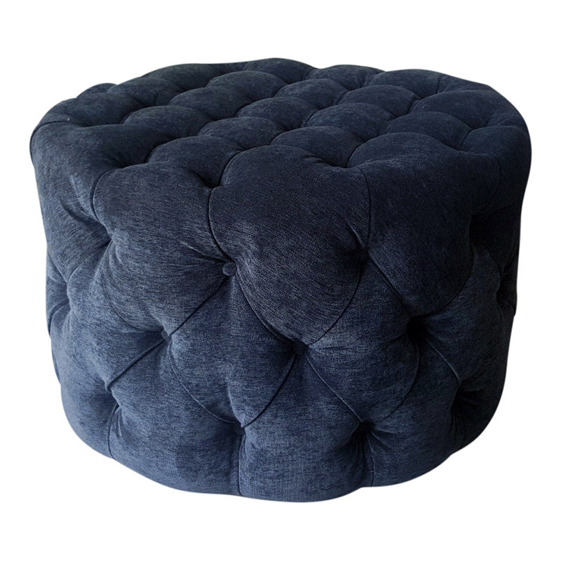 Round buttoned 1000 ottoman