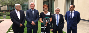Pauline Hanson announces Queensland Senate team
