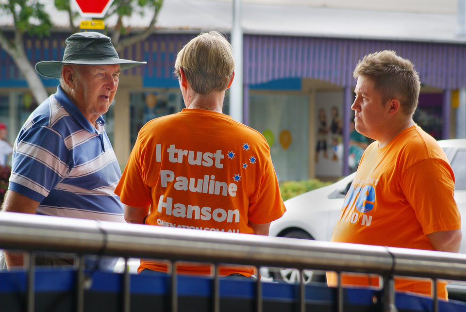 """I trust Pauline"" Orange Supporter T-Shirt"