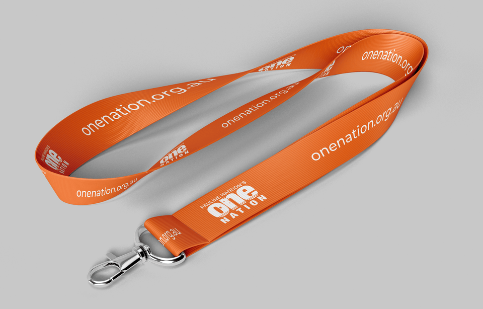 One Nation Lanyard