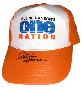 PHON Supporter Cap Signed by Pauline Hanson