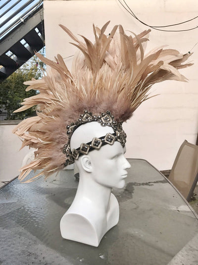 Custom Feather Mohawk - Who Cares Why Not