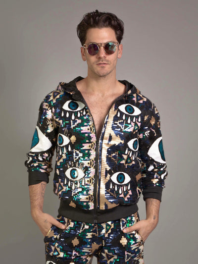 'ALL eyes on me' Jacket - Who Cares Why Not
