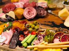 charcuterie trays are great options for date night. They are a simple and lovely way to snack and enjoy the company of your loved one.