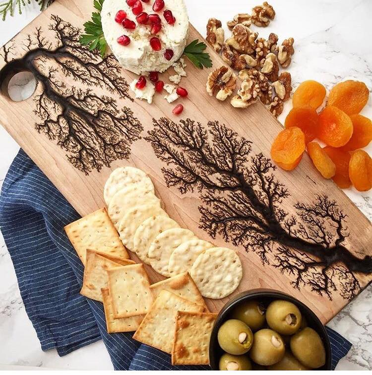 Engraved Wedding Charcuterie Plank