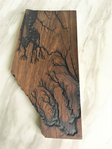 Alberta Electrocuted Charcuterie Plank
