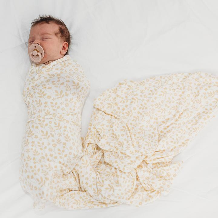 Organic Bamboo Stretchy Swaddle | Meadow