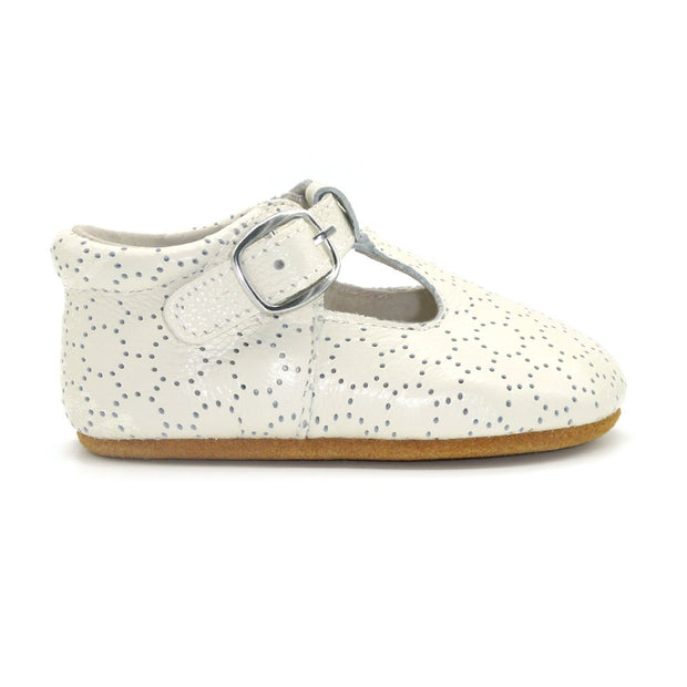 Milly Baby Girls Leather Shoes | Ivory